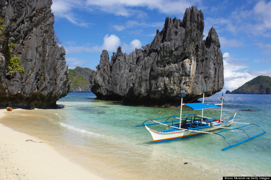 Philippines, Palawan island, Bacuit archipelago at El Nido.